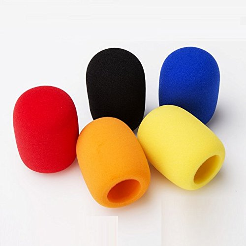 auch-5-pack-reusable-universal-washable-foam-mic-cover-handheld-stage-ktv-dj-party-microphone-windsc