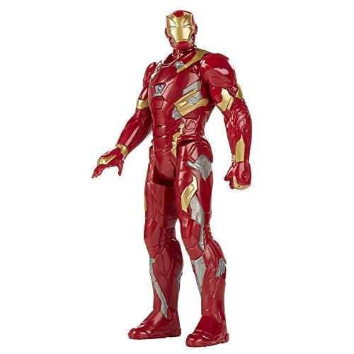 Marvel Titan Hero Series Iron Man Electronic Figure (Avengers Age Of Ultron Titan Hero Tech)