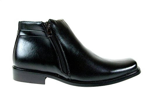 Image of Majestic Men's 38307 Ankle High Double Zippered Classic Boots