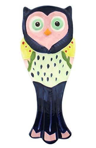 - Boston Warehouse Artsy Blue Owl Ceramic Spoon Rest
