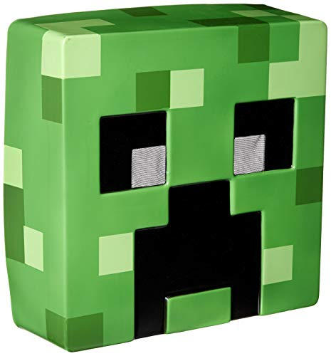Creeper Costume For Halloween (Disguise Men's Creeper Mask, Green, One Size)
