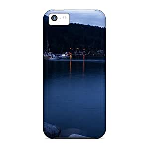 XiFu*MeiFor Iphone 5c Protector Cases Deep Cove At Dusk Phone CoversXiFu*Mei