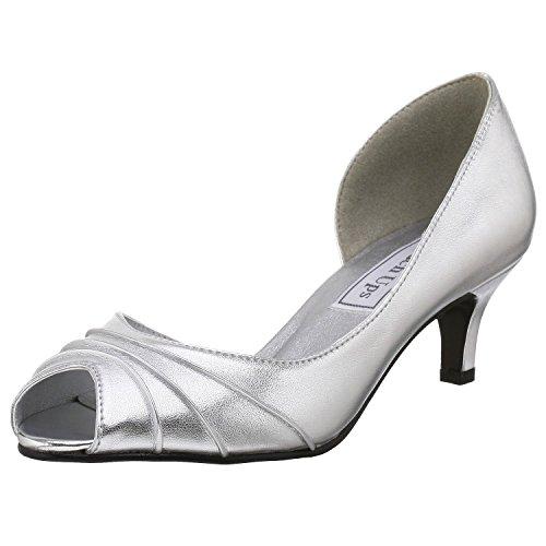 Touch Ups Womens Abby, Silver, Size 9 US B(M) US Medium w...