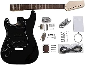 GD4444 Coban Guitars Zurdo US Fresno Guitarra Eléctrica Kit ...