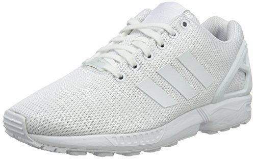 Clear White Unisex Flux Weiß ZX Erwachsene Weiß Top Grey adidas Footwear Low BzxSvwSq