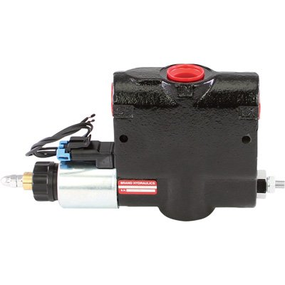 (Brand Hydraulics Electronically Adjustable Flow Control Valve - 0-30 GPM, 3000 PSI, Model# PEFC12-30-12 )