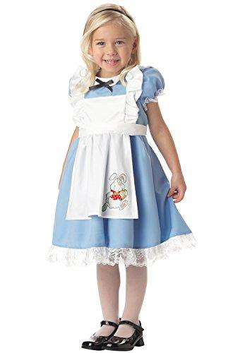 Alice In Wonderland White Rabbit Halloween Costume (Lil Alice In Wonderland Toddler's Costume)