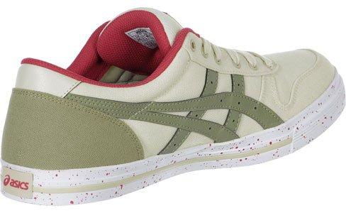 Asics Aaron calzado Beige - beige olive rouge