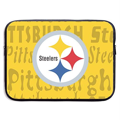 Composite Neoprene Football - Jacoci Custom Pittsburgh Steelers Laptop Computer Sleeve Bag Neoprene Notebook Carrying Case Handbag