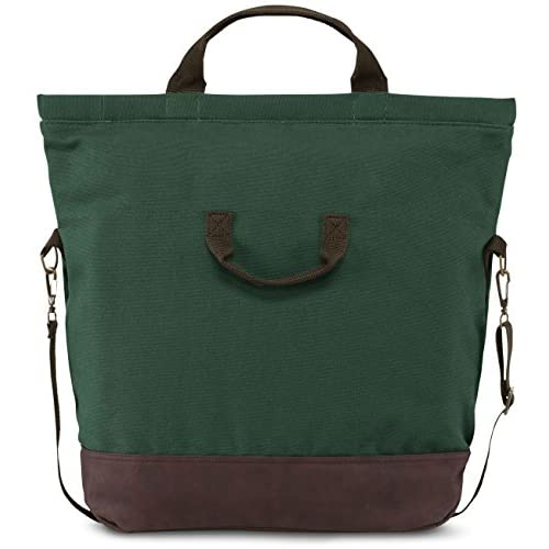 "JanSport Broderick 15"" Laptop Tote Bag - Barber Green / 17.3""H x 18.5""W x 5.5""D"