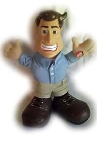 "Plush Mr. Wonderful Talking Doll 13"""