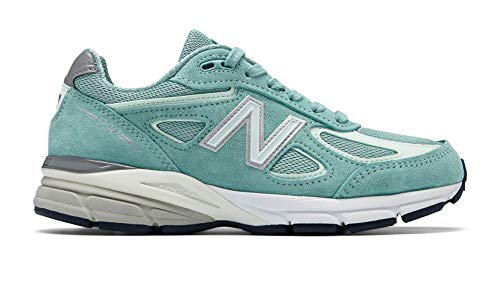 New Balance Men's 990v4, Green/White 7 D US by New Balance (Image #4)