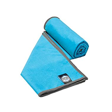 Youphoria Sport Microfiber Travel Towel and Sports Towels (Blue/Gray - 32  x 72 ) - Free Mesh Carry Bag - Quick Dry, Super Absorbent and Ultra Compact - For Travel, Sports, Golf, Gym, Camping, Beach, and Bath. 100% Satisfaction Guarantee!