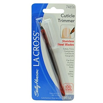 La Cross Cuticle Trimmer - Sally Hansen La Cross Cuticle Trimmer #74856 with Stainless Steel Blades
