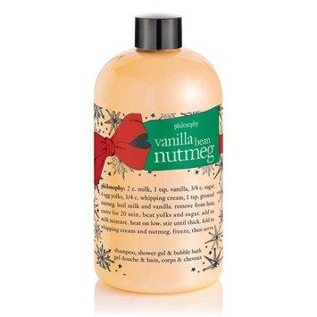 Moisturizing Shampoo Vanilla Bean - Philosophy Shower Gel - Vanilla Bean Nutmeg - 16 oz