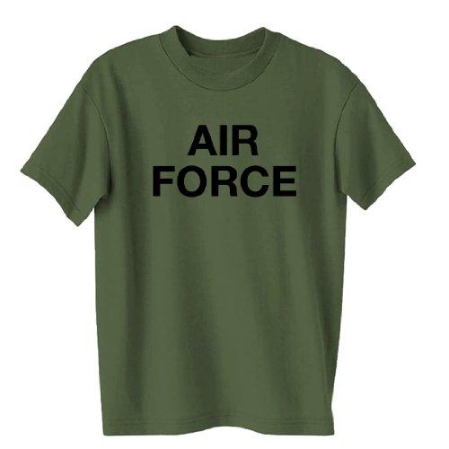 - Vintage Air Force Short Sleeve T-Shirt in military green - Medium