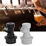Specification: Condition: 100% Brand New Item Type: Beer Brewing Accessories Material: Stainless Steel Weight: Approx. 264g / 9.3ozPackage List: 2 x Carbonation Cap 2 x Barb Ball Lock Connector