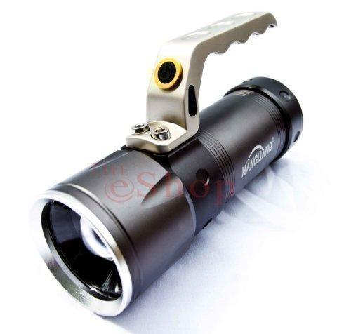 Cree LED Taschenlampe zoom Suchlicht 8000 Lumen XML-T6 2x Akku Flashlight