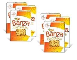 BANZA | Gluten-Free Pasta-Rotini Chickpea 8oz [ 6 PACK]
