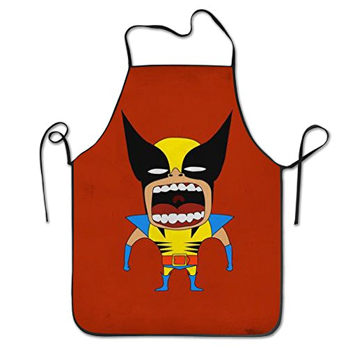 Clark Kent Haircut (ALIIXUN2 Unisex Classic Bat Man Minion Barbecue Apron)