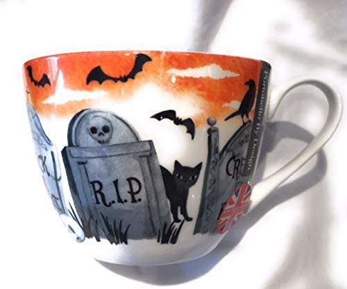 Portobello By Design Happy Halloween Bone China Mug