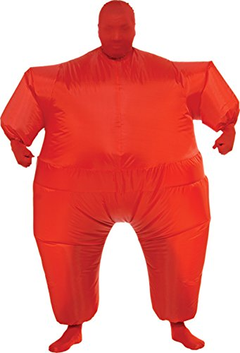 UHC Men's Inflatable Skin Suit Jumpsuit Comical Theme Adult Halloween Costume, OS (Inflatable Body Costume)