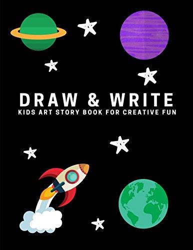Download Draw and Write: Kids Art Story Book For Creative Fun, Black (Creative Writing for Kids) pdf epub