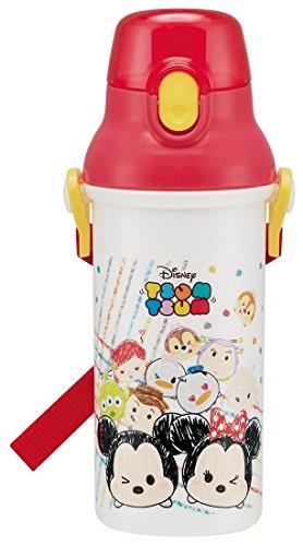 Skater Disney Tsum Tsum Plastic one touch bottle
