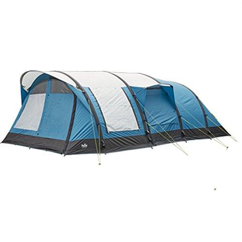 Royal Leisure Rockhampton Air 6 + 2 Berth Tent bleu argent  -