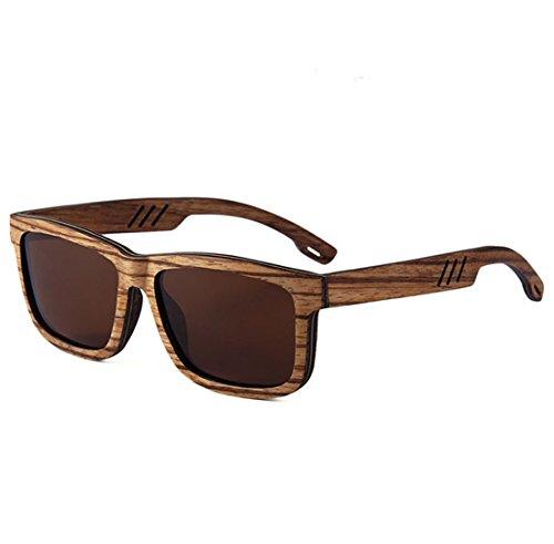 QQB Alta De Hechas True Brown Gama Polarizer A Sol Gafas Huecas De De Film Brown Gafas Square Mano Madera 4tqOv4rWw