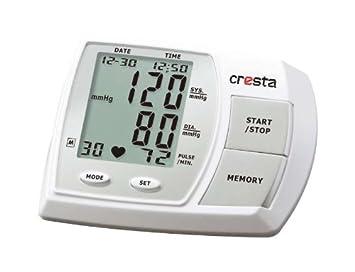 Tensiómetro con gran pantalla LCD para el brazo del Envío de aprox. 23 - 33 cm Con Manguito - Tensiómetro sangre presión arterial (Incluye Pilas + Bolsa): ...