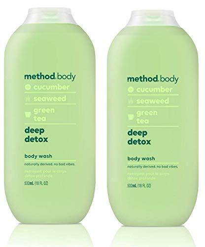 Method Body Wash, Deep Detox, 18oz (2 pack)