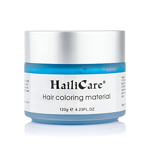 HailiCare Blue Hair Wax 4.23 oz, Professional Hair Pomades