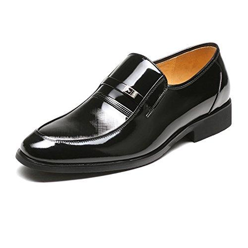Aemember Scarpe Uomo indossare Cappotto uomo Business si adatta alle scarpe ,40, nero
