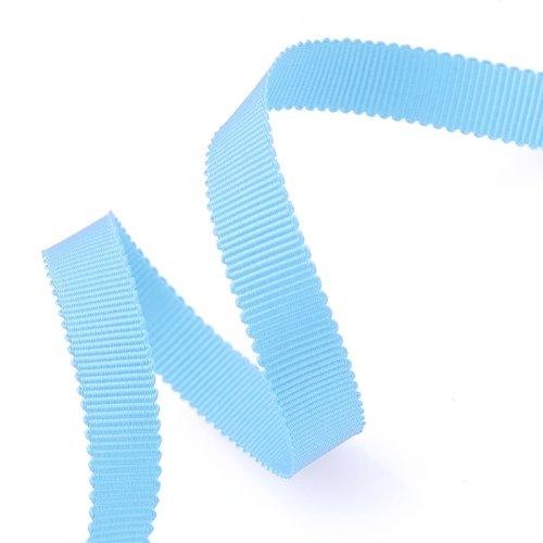 - Grosgrain Ribbon 3/8-Inch Light Blue by 50 Yards