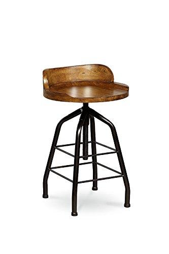 Universal Furniture Great Rooms Potteru0027s Bar Stool, Hickory Stick