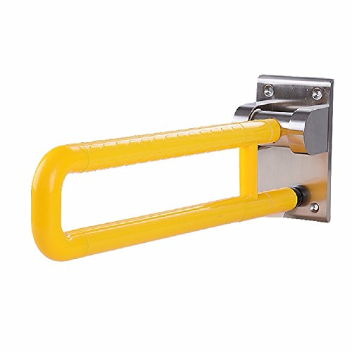 HQLCX Handrail Stainless Steel Handle Barrier Free Bathroom Safe Handle For Old People,Yellow by HQLCX-Handrail