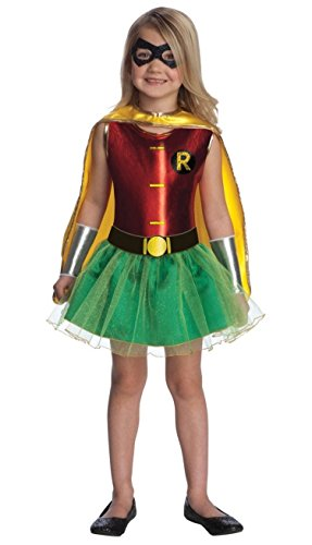 Batgirl And Robin Halloween Costumes (Robin Tutu Baby Costume)