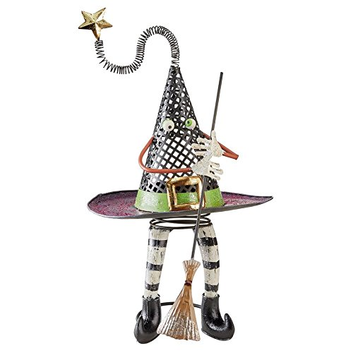 Design Toscano Spellbound Witch's Hat Halloween Statue - Witch Statue - Halloween Prop