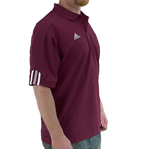 adidas Men's Team Big Game ClimaCool Polo (X-Large)
