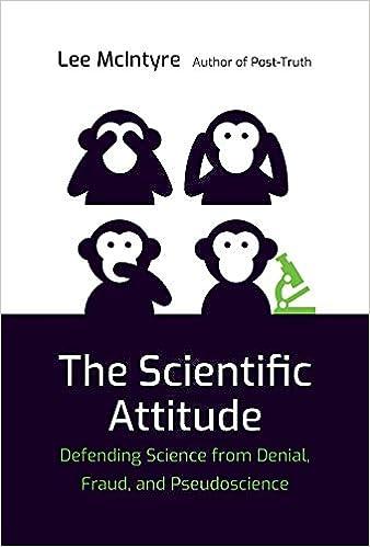 de7068e98 The Scientific Attitude: Defending Science from Denial, Fraud, and  Pseudoscience (The MIT Press): Lee McIntyre: 9780262039833: Amazon.com:  Books