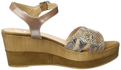 Gadea 40648, Women's Sandals with Ankle Strap Gold (Atenea Canela / Likid Canela Canela)