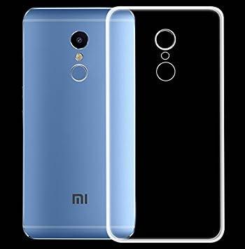 PREVOA ® 丨 Transparent Silicona TPU Protictive Carcasa Funda Case para Xiaomi Redmi Note 4 Pro Prime 5,5 Pulgadas Sartphone: Amazon.es: Electrónica