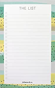 The List- To Do List Notepad, Grocery List Pad, Magnetic Notepad (With Magnet)