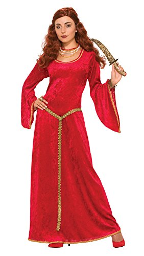 Forum Novelties Women's Ruby Sorceress Costume, Red, Standard