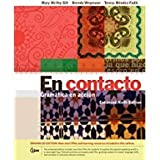 img - for Bundle: En contacto, Enhanced Student Text: Gram tica en accion, 9th + iLrn  3-Semester Printed Access Card book / textbook / text book