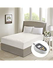 Beautyrest Electric Heated Mattress Pad 21 Inches Deep Pocket Maximum Warmth Hypoallergenic Bed Heater with Auto Shutoff and 5 Year Warranty