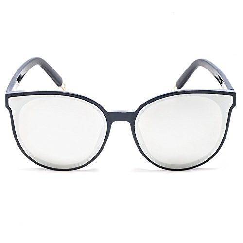 TIME100-la série de Smileyes Lunettes de soleil rétro femme/homme et monture de lunette à la mode changement graduel avec couleur membrane 2017 TSGL038 Blanc
