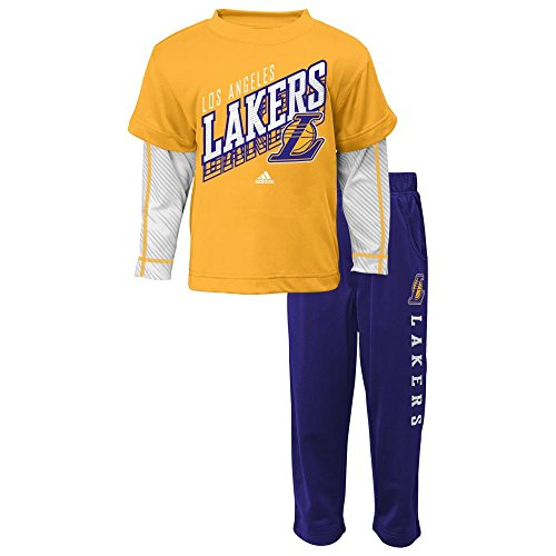 Los Angeles Lakers Basketball Playtime Pant Set, 18 Months