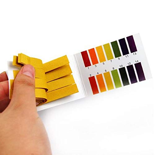 Orcbee  _160 Litmus Paper Test Strips Alkaline Acid PH Indicator Testing Kit